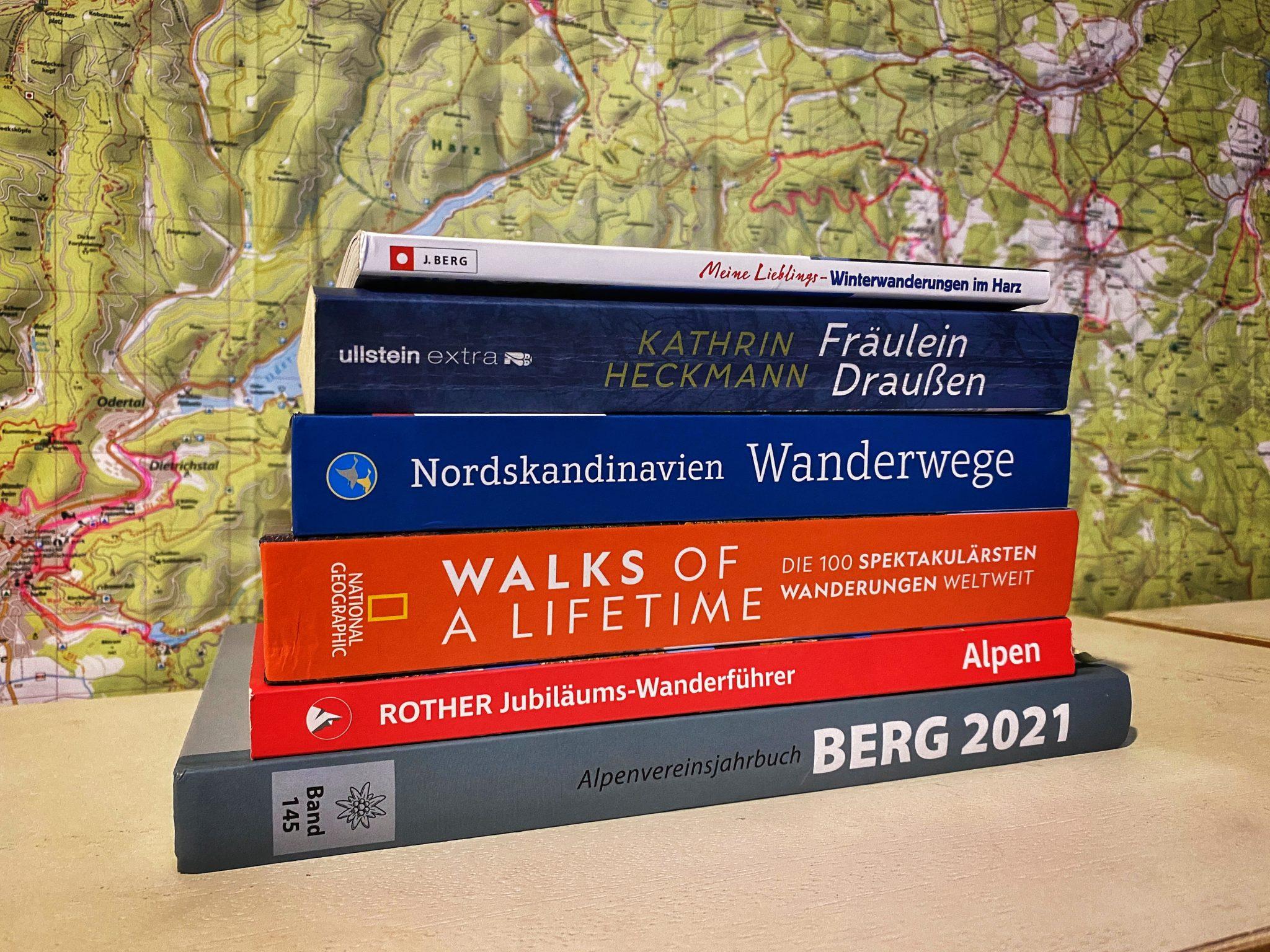 6 Bücher für Wanderer und Fernwanderer